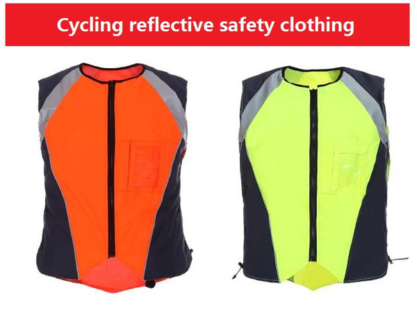High Light Night Warning Flourescent Reflective Cycling Safety