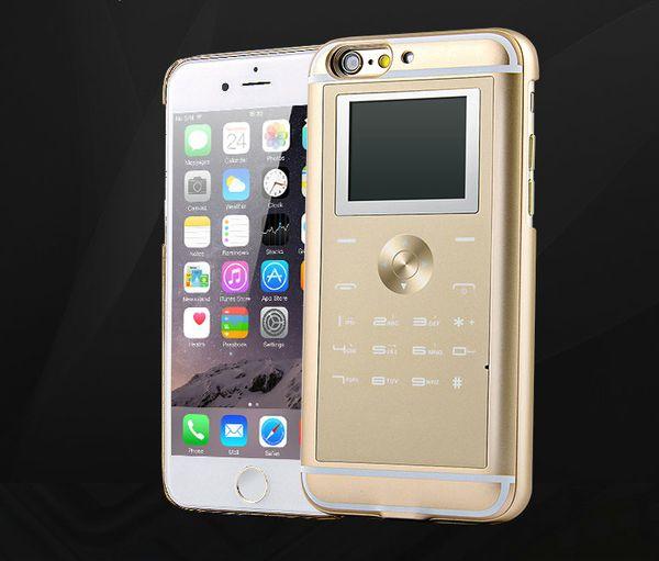Großhandels-Neuer Doppel-SIM-Adapter Ultra-dünne bewegliche Handy-Kasten-Abdeckung mit zwei SIM Karten Schlitz für iPhone 6 6s Doppel-SIM Kartenadapter