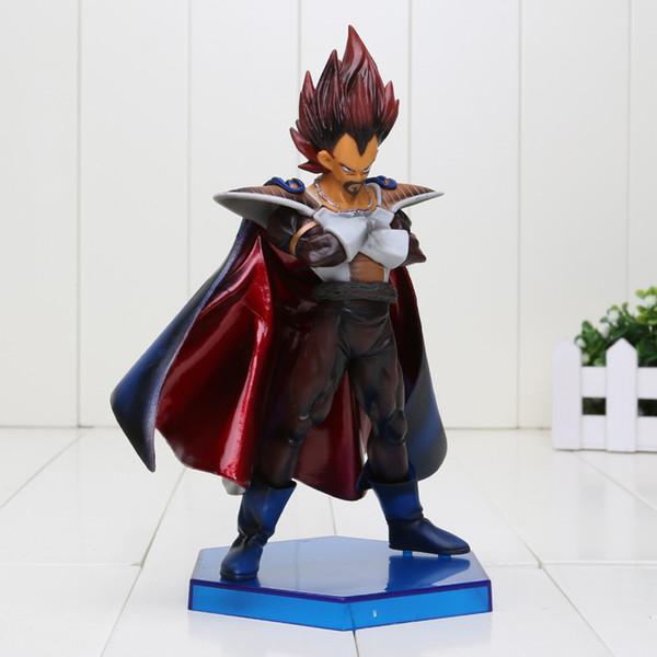 8 '' 20cm Dragon Ball Z Légende de Saiyan Vegeta Poupée Père Vegeta Vegeta PVC ACGN figurine Jouet