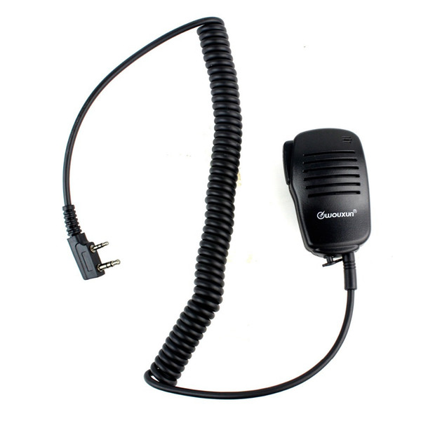 New Mini Handheld Microphone Mic PTT Speaker for Kenwood for WOUXUN for PUXING for HYT for BAOFENG Radios J6205A Alishow