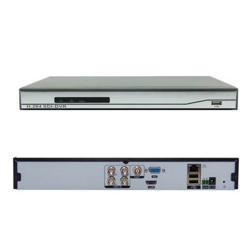 H.264 4CH HD SDI DVR 720 P / 1080 P Echtzeitwiedergabe HDMI Digital Video Recorder