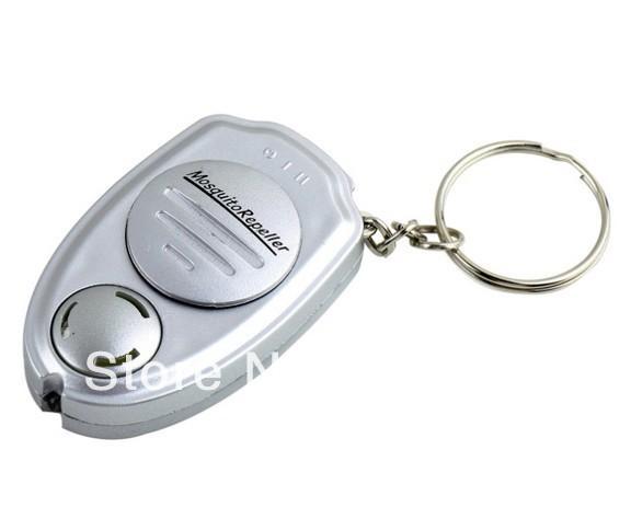 Keychain portatile Ultrasonico elettronico parassiti Mosquito Repeller repellente anti mosquito repellente mosche mosche killer