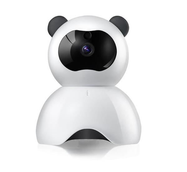 2017 Panda 720P Profile WiFi IP Camera Wireless Surveillance Camera WiFi P2P Security CCTV Network Baby Monitor Two Way Intercom IR