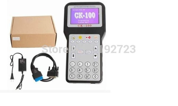 2015 Promotion The Latest Generation V99.99 CK100 Auto Key Programmer CK 100 With Multi-language OBD2 Car Key Programmer CK-100+
