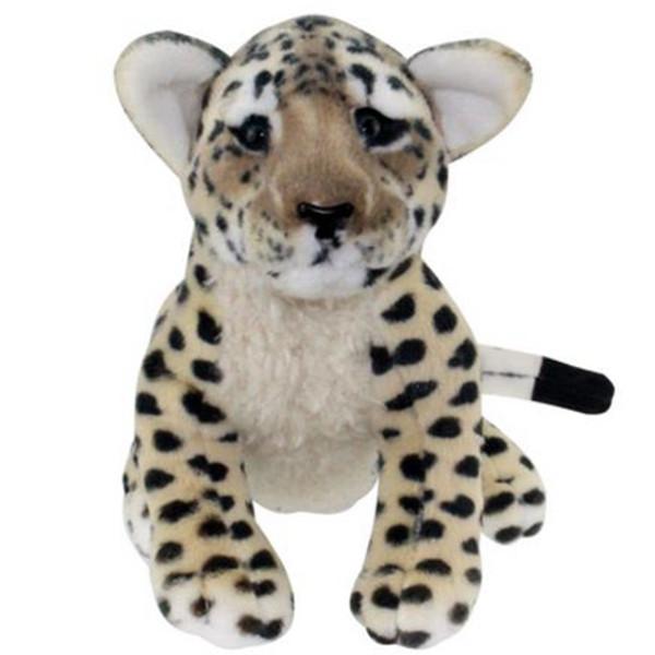 45cm Squatting Leopard