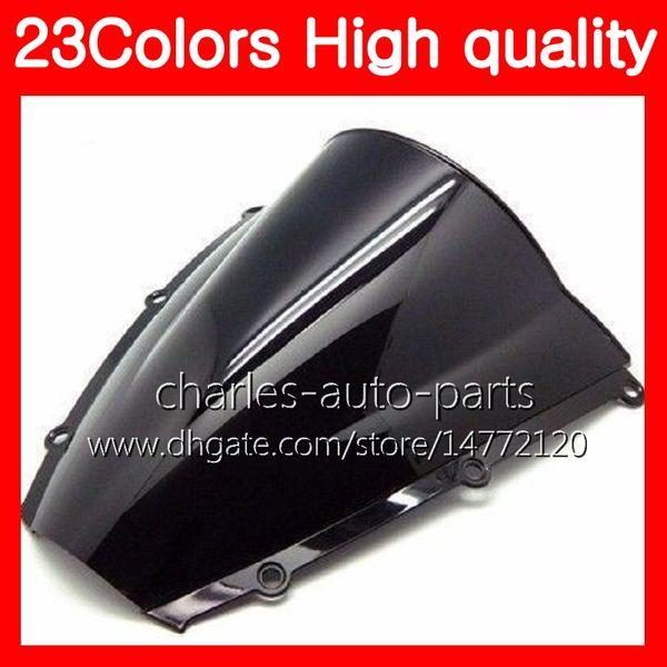100% nuevo parabrisas de motocicleta para HONDA CBR600RR 03 04 05 06 CBR600 RR CBR 600 RR 2003 2004 2005 2006 Chrome Negro humo claro parabrisas