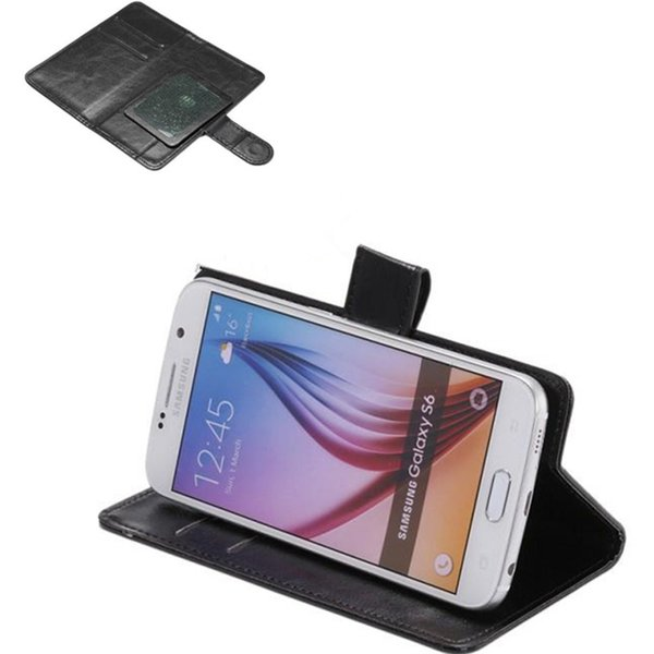 best selling Universal Wallet PU Flip Leather Case Cover For 3.8 4.0 4.3 4.8 5 5.5 6.3 inch for Mobile Phone iPhone Samsung