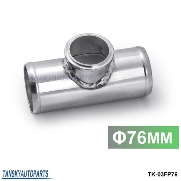 Boost Monkey 2.5 Aluminum Universal Flange Pipe For 50mm Tial Q Blow Off Valves