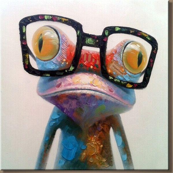 YENI 2015 100% el-boyalı Ücretsiz kargo ünlü yağlıboya yüksek kalite Modern sanatçıları boyama Güzel goril AN-103