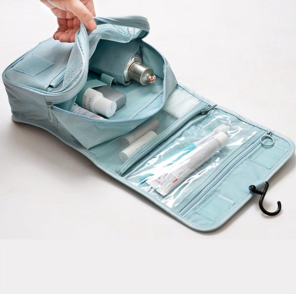 Hot-selling multi-functional suspension waterproof cosmetic bag ladies' portable travel bag