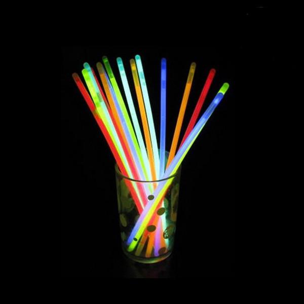 Haute Qualité 500 Pcs / Lot parti lumière led lueur Bâton de Lumière Bâton Glo-Sticks Fluorescent Bracelet livraison gratuite TY488