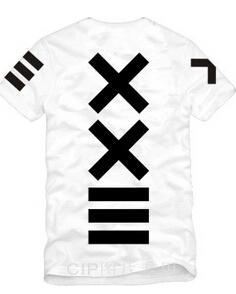 Neue Sommer Männer Frauen xxlll hiphop japan streetwear shirts pyrex 23 shote hba kurzhülse T-shirt berühmte star tees