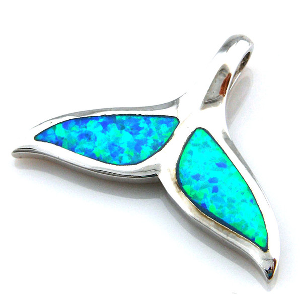 Blue opal jewelry with cz stonefashion opal pendant with amthyst blue opal jewelry with cz stonefashion opal pendant with amthyst whale tail pendant op079b mozeypictures Gallery