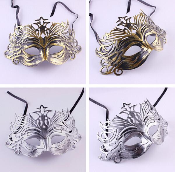 400 pcs 2015 chegam novas Homens do Vintage Máscara Do Partido Das Mulheres Meia Face Máscara de Penas Máscara de Pedaço Máscara Masquerade Máscara de Halloween Máscara Do Partido D171