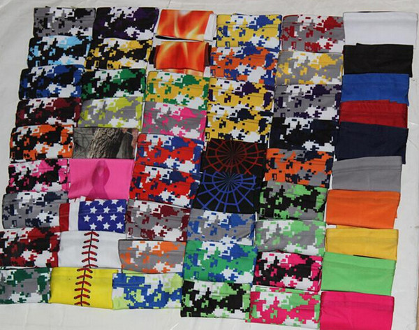 best selling Wholesale DHL Elit sleeve Baseball Stitches digital camo arm sleeve baseball Outdoor Sport Stretch compression sports bands