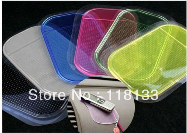 car anti slip mats, sticky pad, anti slip Pad for car for phone slip mat sticky pads Free shipping Wholesale 1202#02