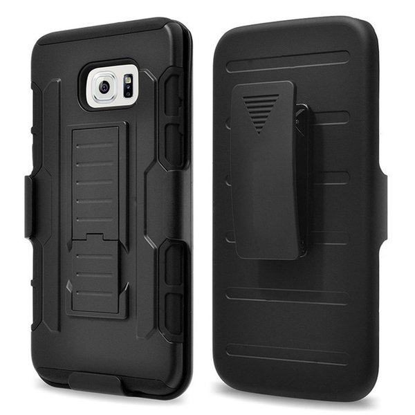 6S S6 Future Armor Impact Hybrid Hard Case Cover + Belt Clip Kickstand Combo For For iPhone 4 5 6s Plus Samsung Galaxy S5 S6 Edge Note4