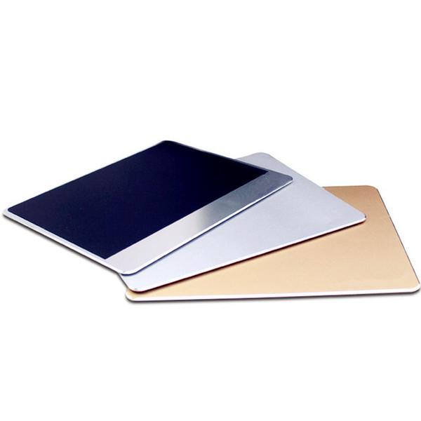 Slim Large Aluminum Metal Computer Game Mouse Pad LOL Mat PC Laptop Gaming Mousepad for Apple MackBook for Dota Gamer