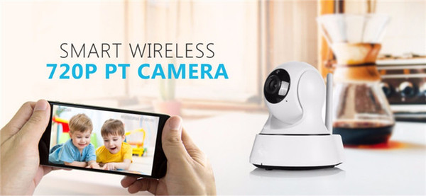 SANNCE Home Security IP Camera Wireless Mini IP Camera Surveillance Camera Wifi 720P Night Vision CCTV Baby Monitor