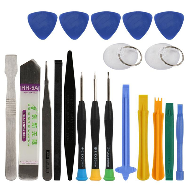 20 in 1 Professional Screwdriver Set Spudger Pry Opening Tool for Samsung Xiaomi Cellphone Tablet Repair Tools Kit