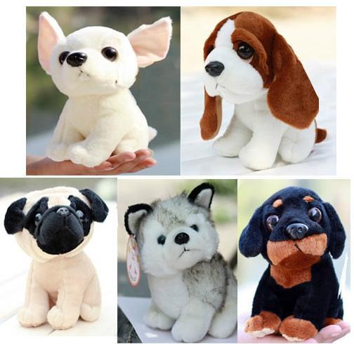 kawaii baby toy plush stuffed staff pug dog Huskies kids toys dogs Dane brinquedos pelucias toy peluche juguetes animals18cm