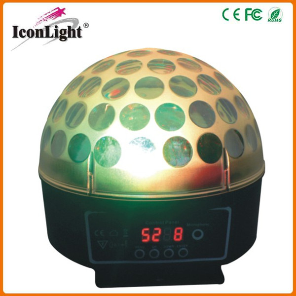 Hot Selling 3*3W Mini Stage Effect Light LED Magic Ball for Disco,DJ,Club and Stage Events