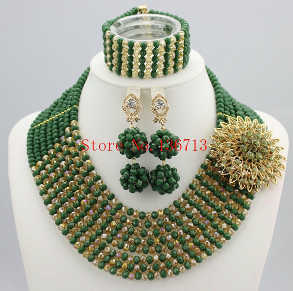 2016 Fashionable African Beads Jewelry Set Purple Costume Nigerian Wedding African Bridal Jewelry Set Free Shipping SY802-3