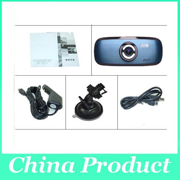 10pcs/lot newest Wholesale 720P H200 G1W Car DVR Camera Recorder camcorder car dvrs Dashboard Dash cam Black Box 002779