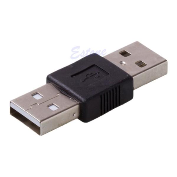 Großhandels-USB-2.0-Stecker auf USB-Stecker-Kabel-Koppler-Adapter-Konverter-Verbindungsstück-Wechsler