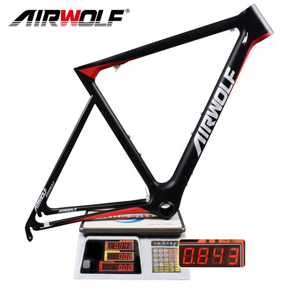 2018 carbon road frame toray T1100 monocoque carbon road frame only 843g Mechanical Derailleur and Di2 frame road carbon china