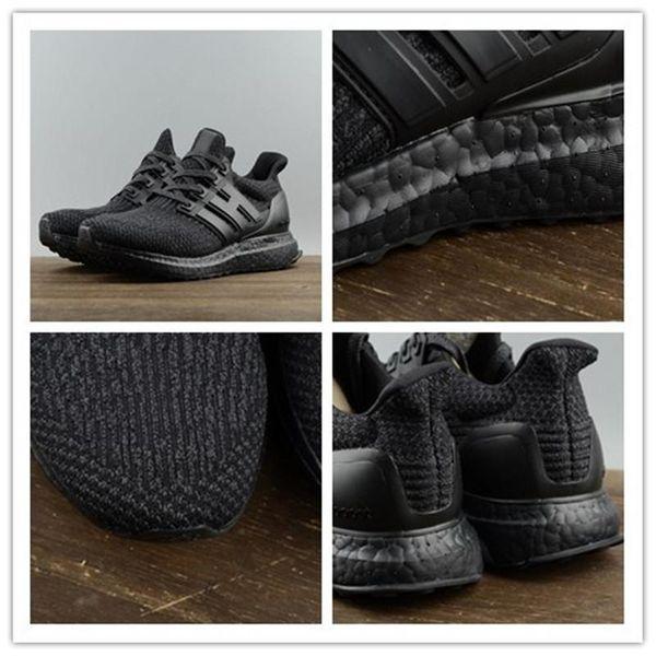 9eebc0ac1e1a4 Wholesale Ultra boost 3.0 Triple Black Running Shoes Ultra Boost white black  sneaker shoes primeknit Sport