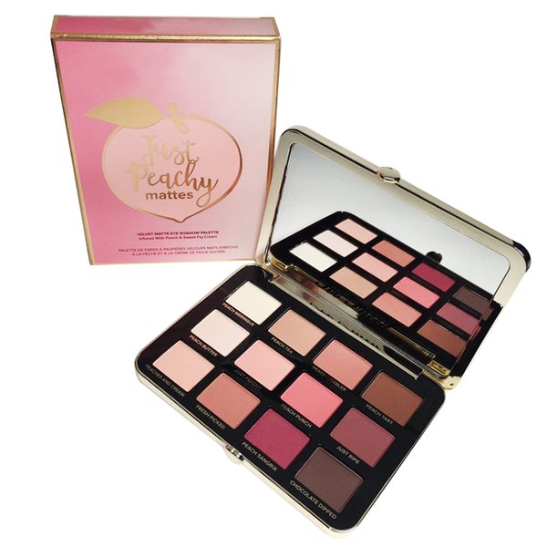 Just Peachy Matte Eyeshadow Palette 12 Colors Eyeshadow Makeup 48pcs Free Shipping