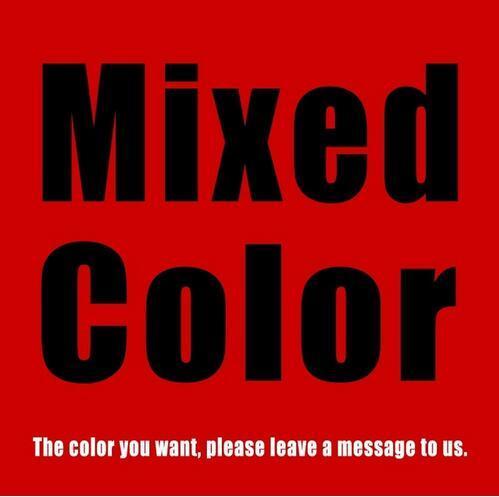 message de couleur mixte/congé