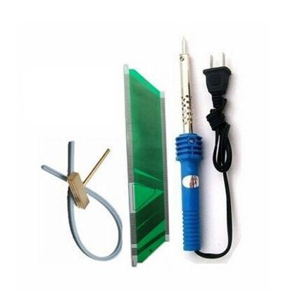 PWcar 1 set SAAB 9-3 9-5 SID LCD pixel failure repairs saab sid 2 lcd connector cable T-head soldering iron rubber cable
