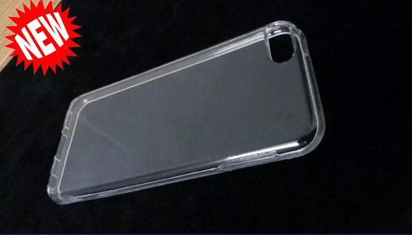 Para Apple Ipod Touch 5 6 6th Itouch6 funda de silicona TPU suave cristal transparente transparente de goma cubierta del teléfono celular en blanco brillante cubierta de lujo