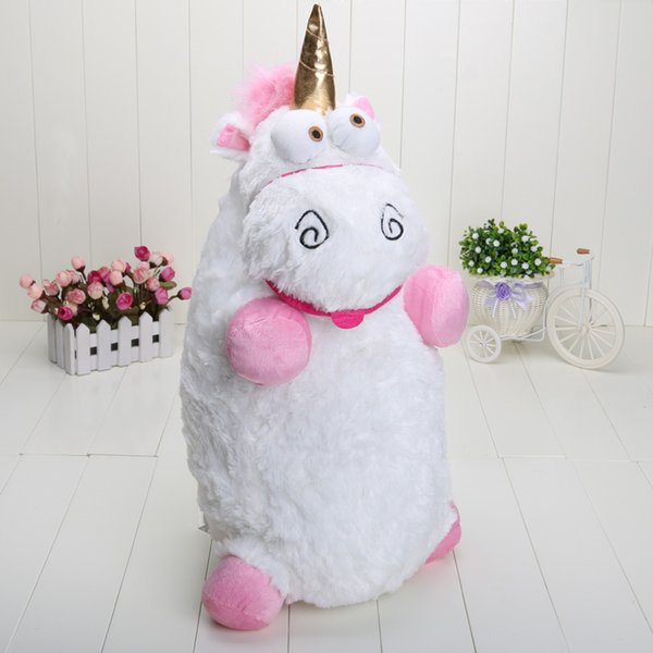 2019 22 Inch Hot Sale Despicable Me Fluffy Unicorn Plush Pillow Toy Doll Big Fluffy Gift From Kate And Kevin 13 52 Dhgate Com