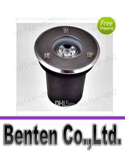 llfa479 Ücretsiz Kargo 3 w ww / cw led yeraltı ışık Gömülü lamba Bahçe IP68 ışık açık lamba inground LED lamba