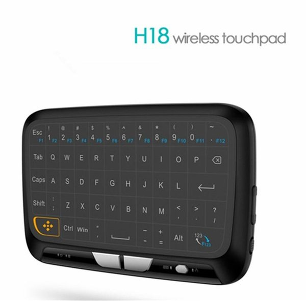 Mini H18 Wireless Keyboard 2.4 G Portable Keyboard With Touchpad Mouse for Windows Android/Google/Smart TV Linux Windows Mac