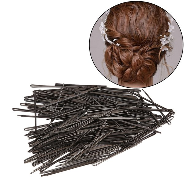 235pcs Women Black Invisible Hair Pins Clips Hair Clips U-shaped Hairpin Barrette Pin Salon Hairdressing Styling Tools