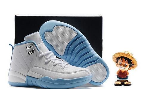 Nouveau 12 XII Français Bleu Rose Maître OVO Enfants Chaussures De Basketball Fille Garçon 12s Haute Qualité Sport Chaussures Jeunesse Baskets De Basketball