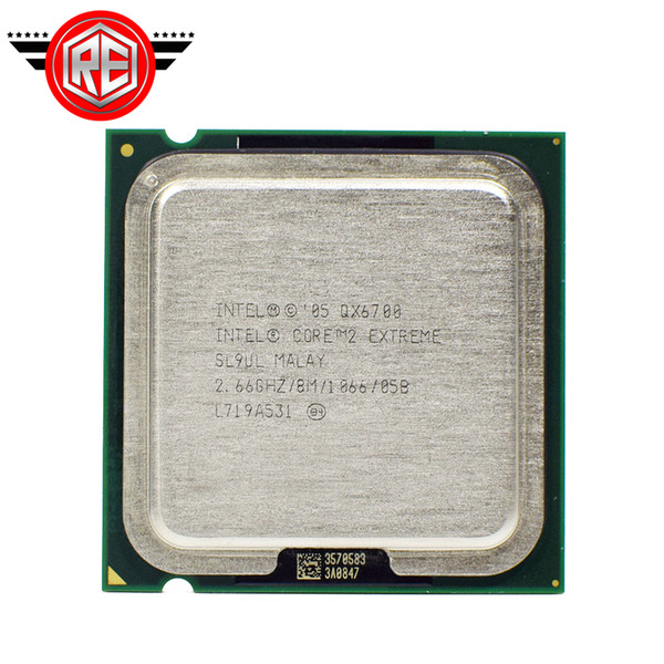 Intel Core 2 Extreme QX6700 Prozessor 2,66 GHz 8 MB Quad-Core FSB 1066 Desktop-LGA775-CPU