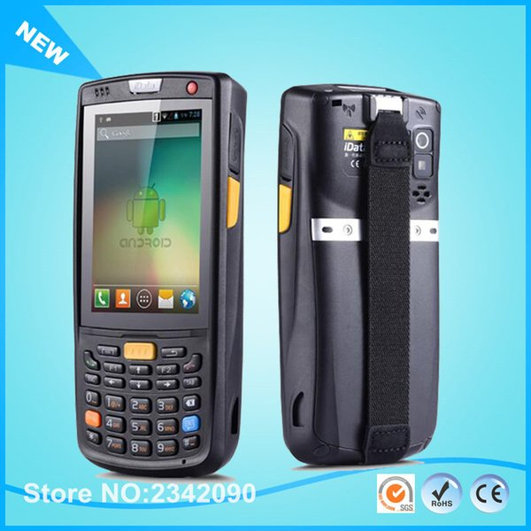 best selling Wholesale- iData95V 1D 2D Laser Wireless Data Collector Android Industrial Rugged Handheld PDA With 4G,3G,Camera,RFID,Wifi,GPS,Bluetooth