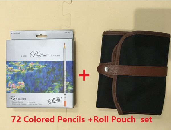pencils and Roll Pouch set