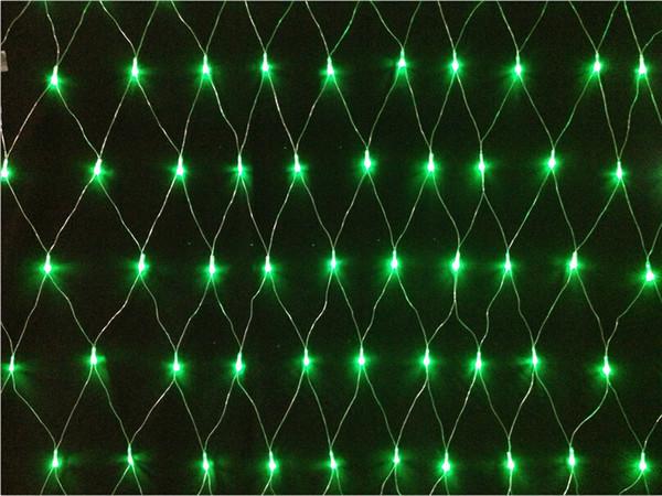 6 W / set Denetleyici ile led net Dize ışıkları 220 V 110 V LED Perde Işıklar 200 adet Ledler 2 M * 2 M Düğün için Parti Christams