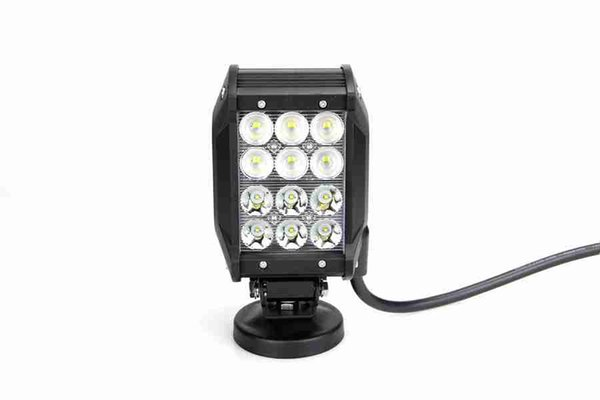 factory price 4 inch 36 w four rows cree off road led light bar, 12v led light bar off road