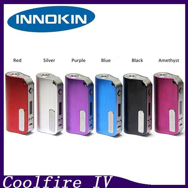100% Innokin CoolFire IV 40 W Pil Mod Otantik Innokin Serin Yangın IV Express Kiti 2000 mah Innokin Coolfire 4 Kutu Mod 2201044-1