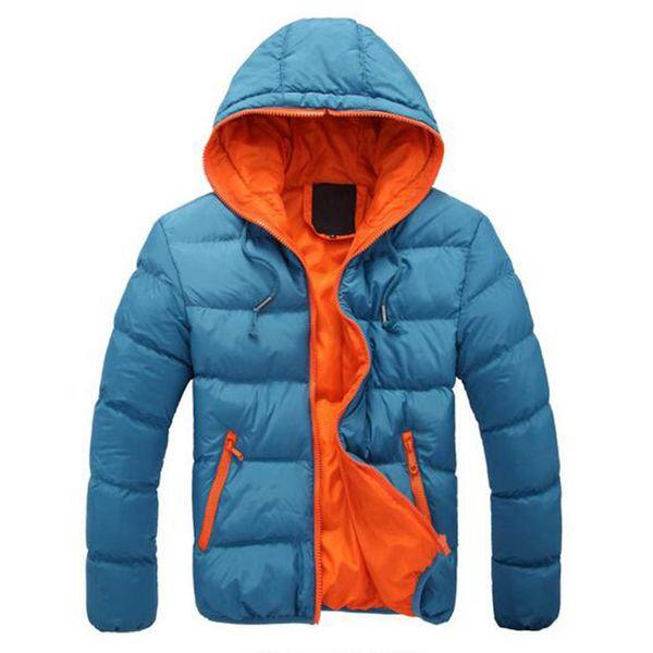 top popular Fall-2015 Winter Jacket Men Duck Down Jacket Brand Men's Casual Fashion Men Winter Coat Plus Size M XXXL 3XL 2019