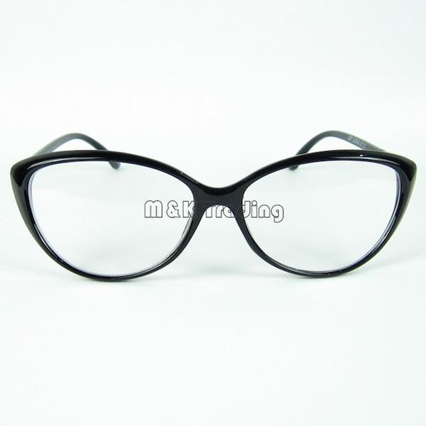 eyeglasses frames qypn  Cat Eye Frame Eyeglasses Trendy Forever Eyeglasses Frame Designer For Women Optical  Frame With Clear Lenses