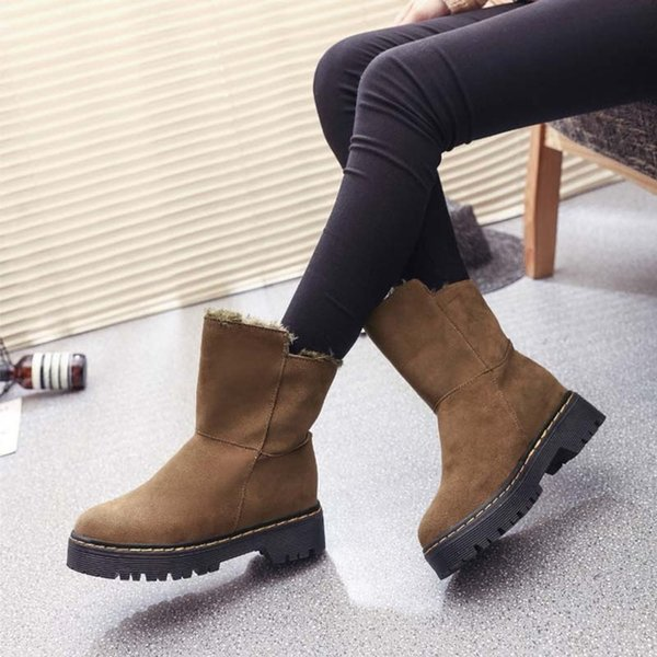 High quality snow boots new winter high quality snow warm shoes size EUR 35-40 winter thick cotton boots