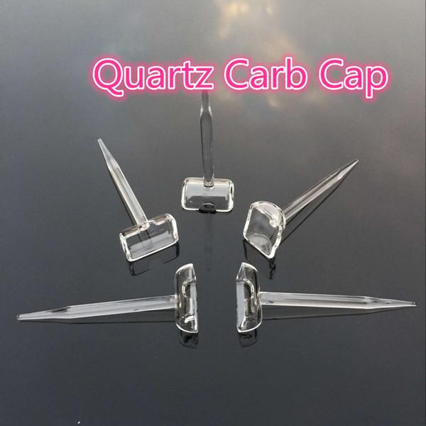 2016 Nuovo 6 Stili Quarzo Banger Carb Cap Fit Femmina Maschio 10mm 14mm 18mm Quarzo Miele Benne Bangers, Chiodi di quarzo Domeless, Quartz Trough
